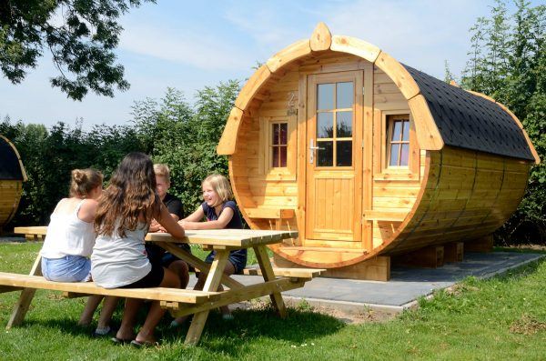 Campingplatz IJsselstrand - Zeltfass