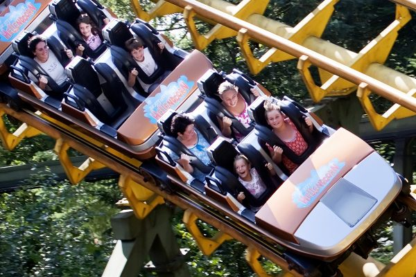 Abenteuerpark Hellendoorn - Achterbahn Tornado