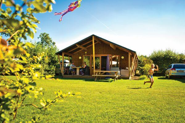 Ferienwohnung in Holland - Lodge Zelt De Kleine Wolf