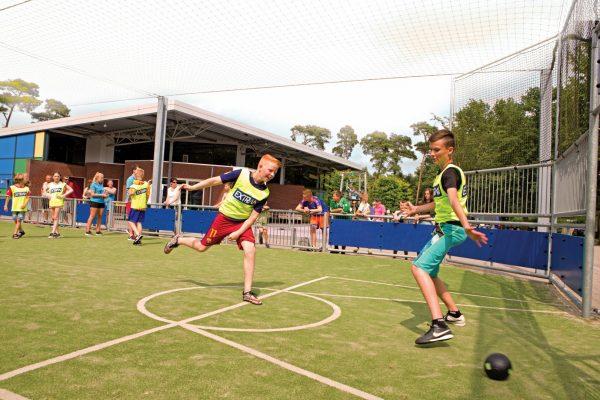 Camping mit Kindern - Sportplatz De Kleine Wolf