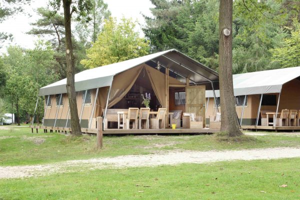 Glamping in Holland - Safarizelt Campingplatz De Wildhoeve