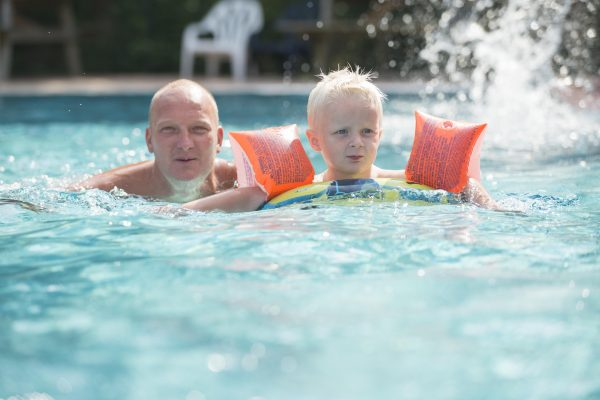Camping mit Schwimmbad - De Zandstuve
