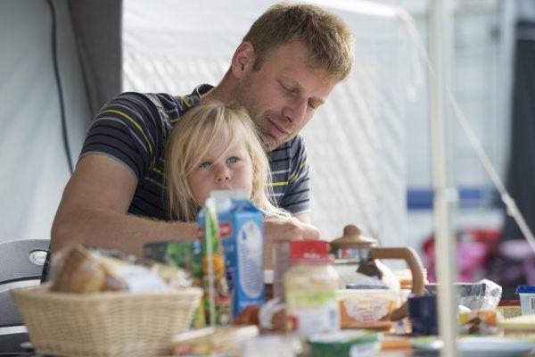 Campen mit der Familie in Holland- De Zandstuve