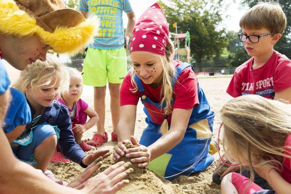 Campingplatz mit Animation für Kinder - Twee Bruggen