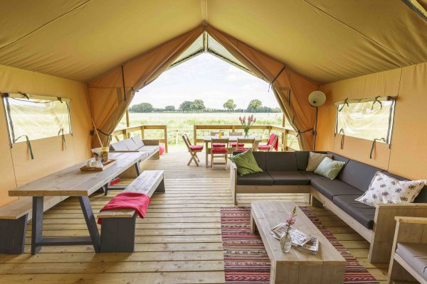 Glamping in Holland - Safari-Zelt Verleih