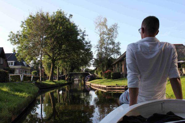 Camping bei Giethoorn, das Venedig des Nordens