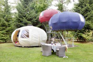 Holland Campings - Besondere Unterkünfte wie z.B. auf Campingplatz Wildhoeve