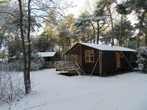 Ferienpark Beerze Bulten im Winter