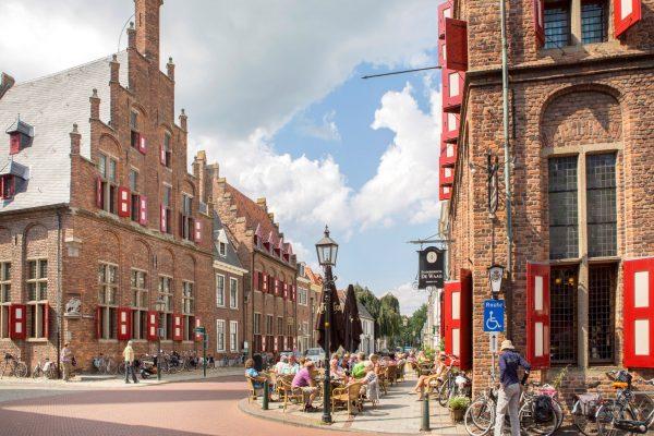 Hansestadt Doesburg - Terrasse Restaurant De Waag