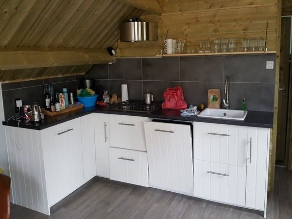 Campingplatz De Wildhoeve - Küche Waldhaus