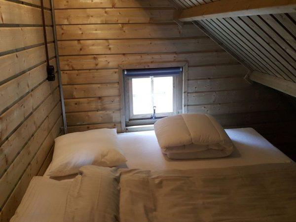 Campingplatz De Wildhoeve - Schlafzimmer Waldhaus