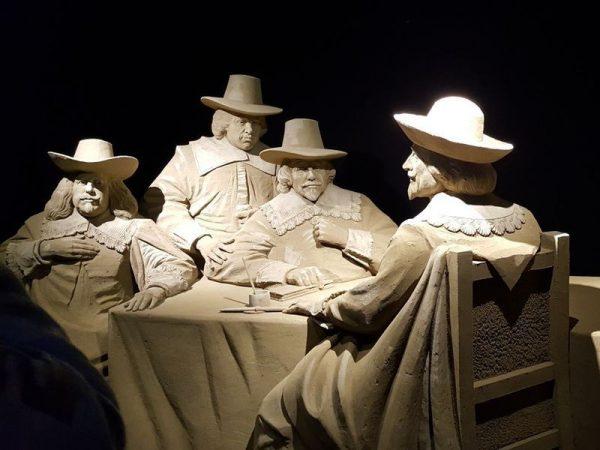 Sandskulpturen Festival Veluwe