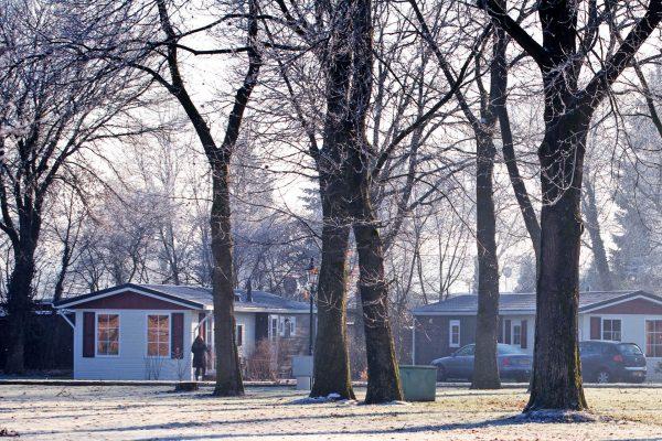 Ferienpark De Twee Bruggen - Winter im Ferienpark