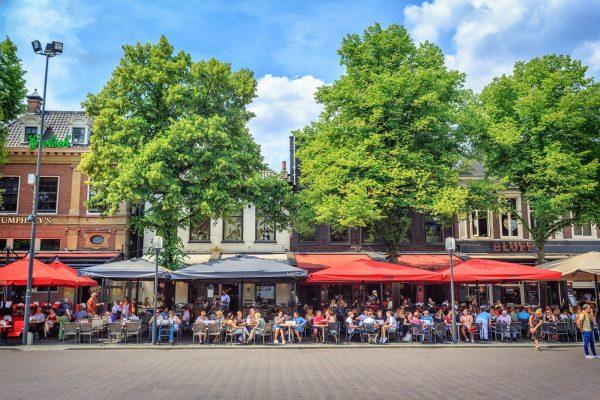 Enschede - Terrassen am Oude Markt - ©Jurjen Drenth