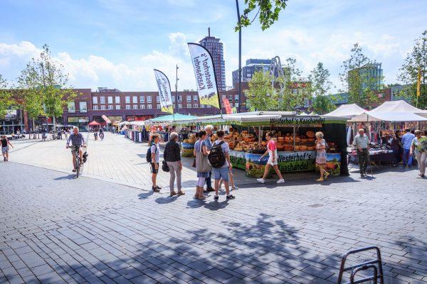 Enschede - Wochenmarkt - ©Jurjen Drenth