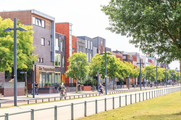Enschede - neue Haeuser im Stadtviertel Roombeek - ©Jurjen Drenth